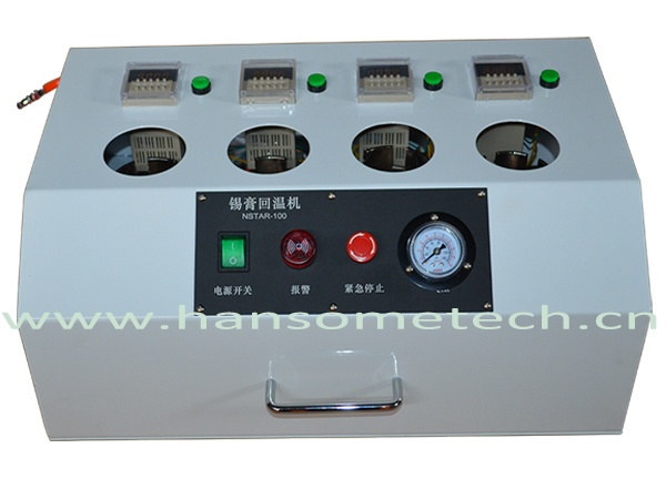4 Tank Solder Paste Warm Up Timing Machine