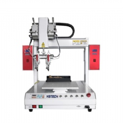 Double Soldering Tip Single Platform Automatic Soldering Machine